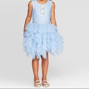 ❄️Disney FROZEN Elsa tutu dress toddler S2 NWT❄️